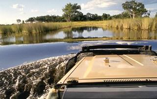 Safari river crossing