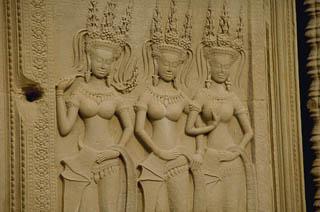 Apsaras at Angkor