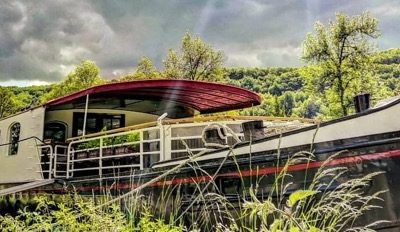 Luxurious Barging On French Canals