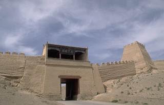 Walled Fortress China