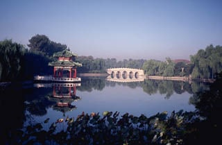 Marble bridge Beijing China