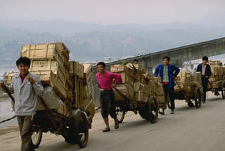 Cart delivery Chongqing China