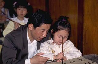 Calligraphy teaching China