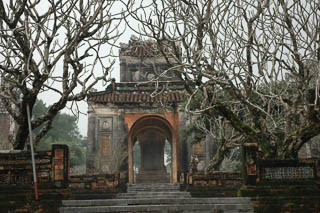 Ming Manh tomb Hue Vietnam