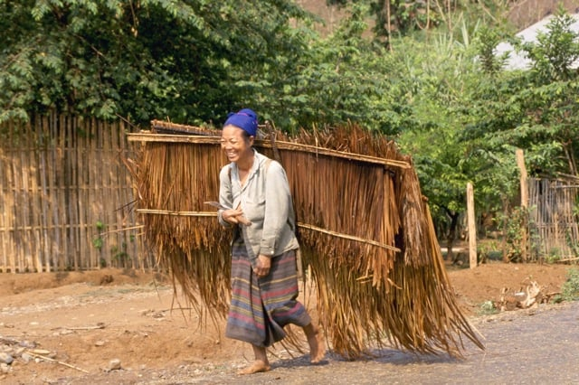 Thatch delivery Laos